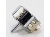 Drehwinkelschalter, Hohlachse, 16A, 2-polig, Steckanschluss